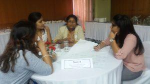 Laboratory Team Discussing