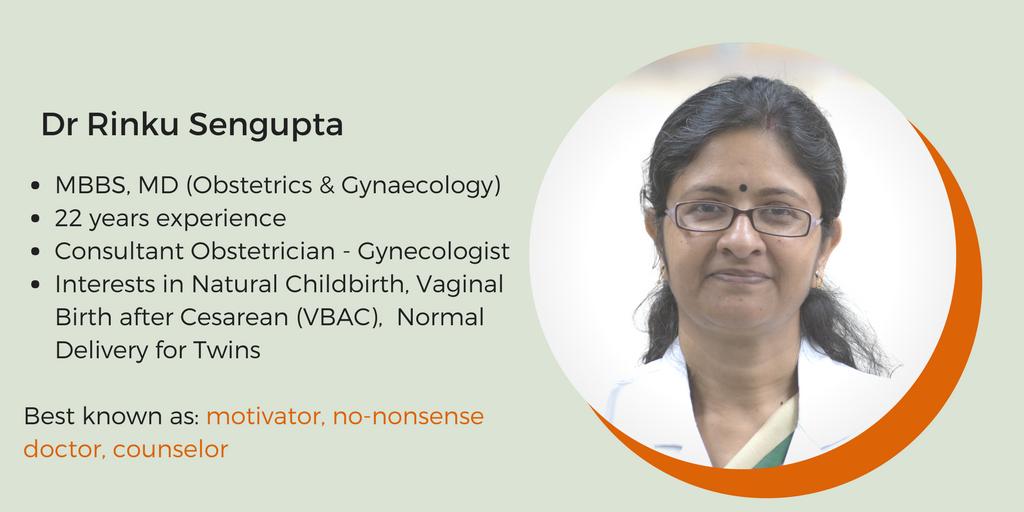 Best- gynecologist-in-Delhi - Dr -Rinku -Sengupta