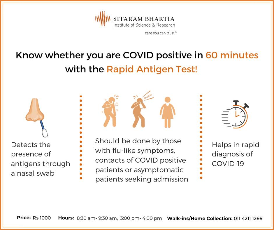 Antigen test- COVID