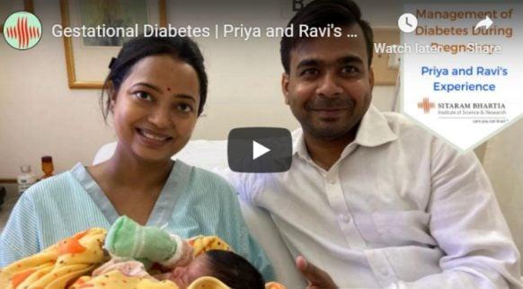 Priya's gestational diabetes story-video