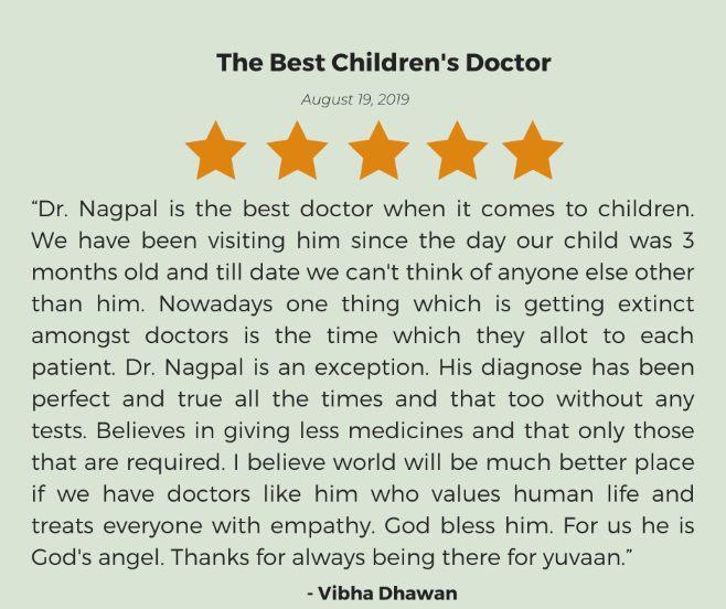 Dr Jitender Nagpal testimonial